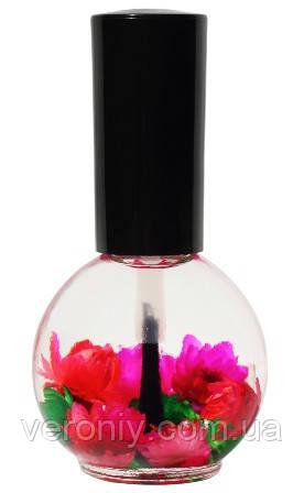 """Цветочное масло для кутикулы Naomi """"Роза"""", 15 мл."""