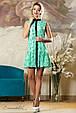 Красивое  летнее  платье 2145 зеленый, фото 2