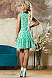 Красивое  летнее  платье 2145 зеленый, фото 4