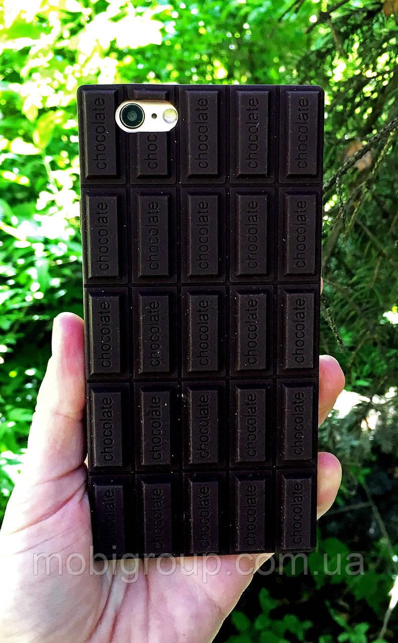 Силиконовый чехол Шоколад iPhone 6S/6