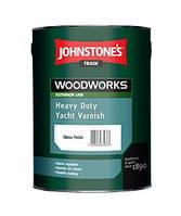 Глянцевый лак  для наружных работ (Джонстоун) Johnstone's Heavy Duty Yacht Varnish Gloss 0.75 л