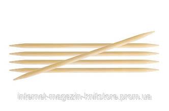 Спицы носочные Bamboo KnitPro | 20 см | 3.75 мм