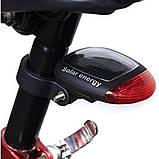 Фара задняя для велосипеда на солнечной батарее, фото 4
