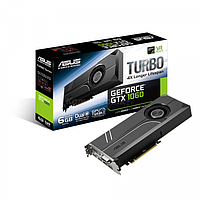Видеокарта ASUS GeForce ® GTX 1060 TURBO 6GB GDDR5