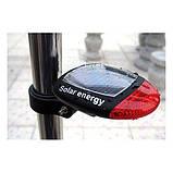 Фара задняя для велосипеда на солнечной батарее, фото 5
