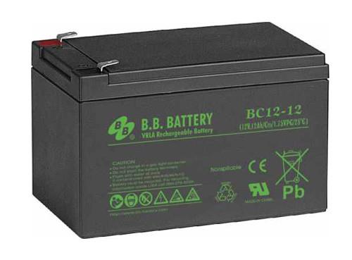 Аккумуляторная батарея B.B. Battery BC 12-12 (12V, 12 Ah)