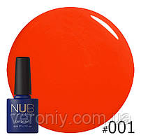 Гель-лак NUB 001 Hawaiian Sunset, 8 мл