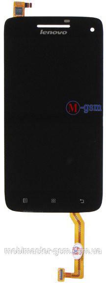 LCD модуль Lenovo S960  черный