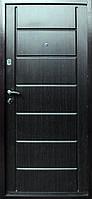Входные двери ТМ Уют Металл/МДФ Венге темный 211
