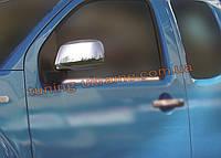 Накладки на зеркала Omsa на Nissan Navara D40 2009-2014