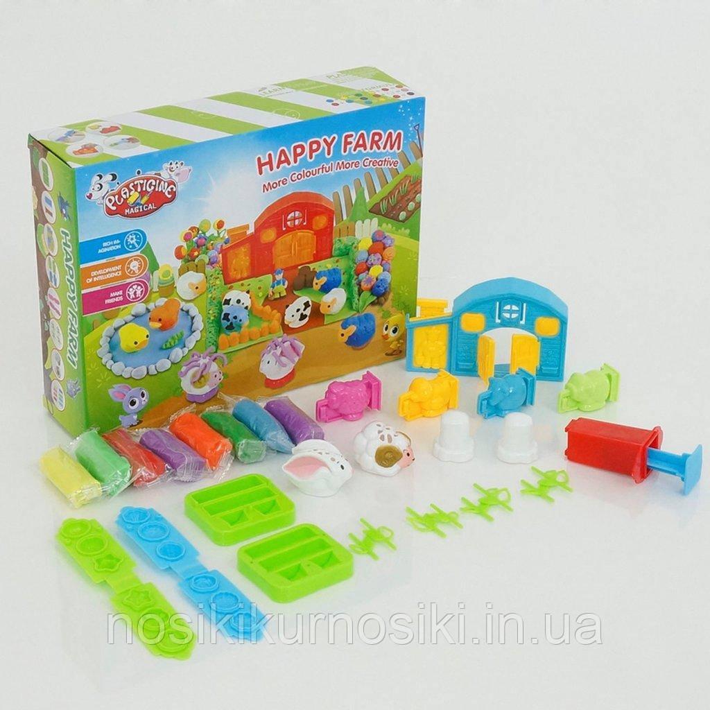 Набор для лепки (пластилин) Веселая ферма Plasticine magical