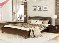 Ліжко  з натурального дерева Венеція Люкс