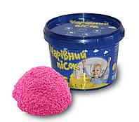 Набор для творчества Волшебный песок розовый 0, 5кг. (m +)
