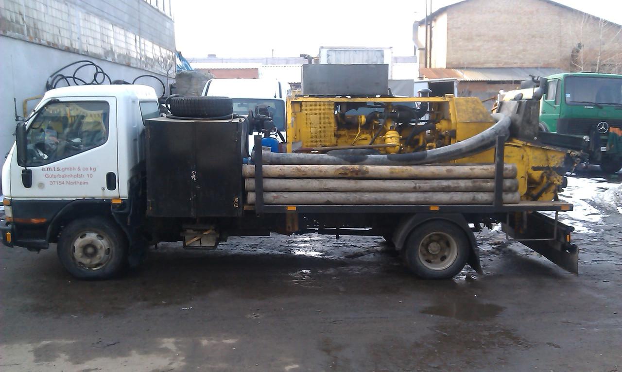 Услуга бетононасоса с производительностью до 50м3/час. - Бетон и насос в Киеве
