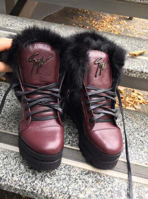 Зимние женские ботинки, ботильоны, полусапожки