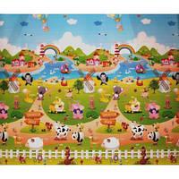BabyPol Игровой коврик Веселая ферма 1500х1800х10 мм