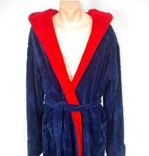 Мужской халат длинный с поясом БП