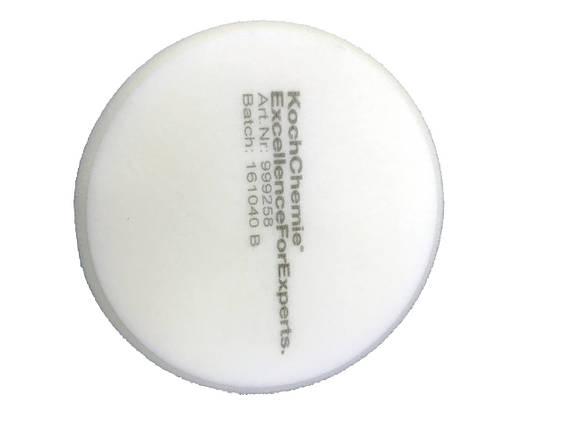 Полировальный круг твердый - Koch Chemie 80х30 мм. белый (999275), фото 2