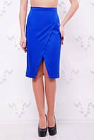 Юбка Luxe 1464 (4 цвета), прямая летняя юбка