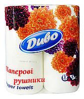 Бумажные полотенца Диво (2 слоя, 50 листов) - 2 рулона