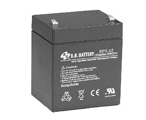 Аккумуляторная батарея B.B. Battery BP 5-12