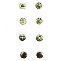 Кнопка маленькая №54-D12.5 золото
