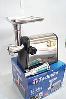 Металлическая  электромясорубка Technika TK-2002 3000Вт (электро-мясорубка Техника ТК-2002), фото 1