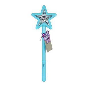 Волшебная палочка со световым и звуковым эффектом голубого цвета