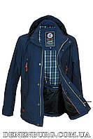 Куртка мужская демисезонная BLACK VINYL TC17-820 синяя, фото 1