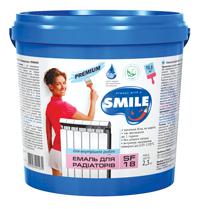 SF-18-0.9кг Эмаль для радиаторов «SMILE» PREMIUM