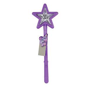 Волшебная палочка со световым и звуковым эффектом фиолетового цвета