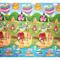 BabyPol Игровой коврик Сказочный город 1800 х 2000 х10 мм