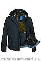 Куртка мужская демисезонная BLACK VINYL TC17-830-1 темно-синяя