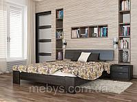 Ліжко  з натурального дерева Титан
