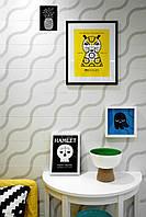 Керамическая плитка Керамин Лабиринт 1,2,3,4,5,7 голубой, желтый, зеленый, белый