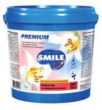 SF-180-0.9кг Эмаль универсальная «SMILE» PREMIUM