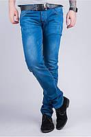 Мужские джинсы с потертостями TOS 285G006