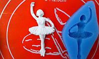 Силиконовый молд балерина.