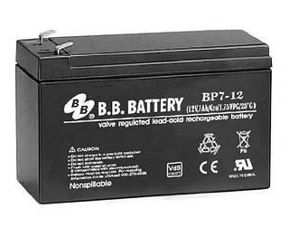 Аккумуляторная батарея B.B. Battery BP 7,2-12 (12V, 7,2 Ah)