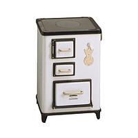 Кухонно-отопительная печь Wamsler Tea-левая 5,5 кВт