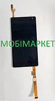 Оригінальний екранний модуль сенсор + дисплей LCD в зборі для HTC Desire 600originalчорногокольору