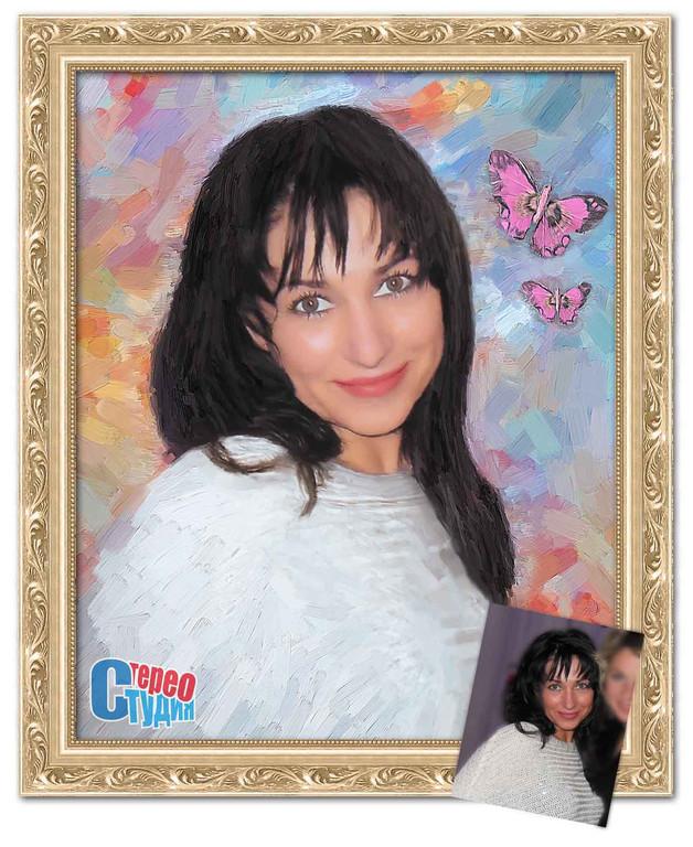 Портрет любимой к 8-му марта 2