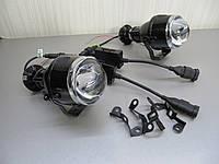 Дополнительные LED линзы ближнего/дальнего света М 611.комплект GV-7S, фото 1