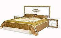 """Ліжко """"Софія"""" 1.6 від Світ Меблів (Білий)"""