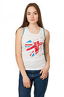 Женская майка Code Original цвет белый размер 42-44 B19-1
