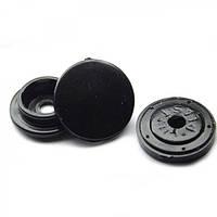 Кнопка пластиковая D12,5-черная.