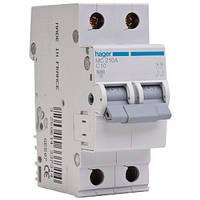 Автоматический выключатель In=0.5 А 2п С 6 kA 2м
