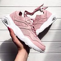 Женские брендовые кроссовки Puma Trinomic