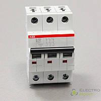 Автоматичний вимикач ABB S203 3p B25