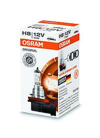 Лампа автомобильная Osram H8 Original